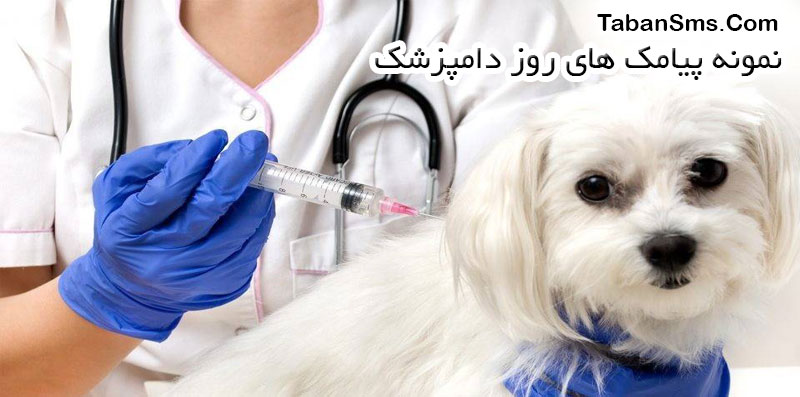 نمونه پیامک روز دامپزشک